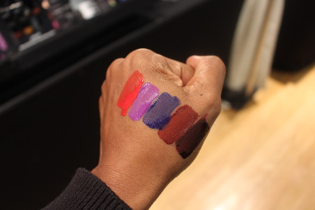 the makeup show nyc blackup matte lipsticks