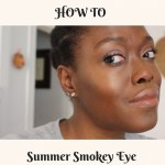 How To Do: An easy summer smokey eye makeup tutorial