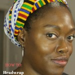 How to easily tie your African headwrap – Headwrap tutorial