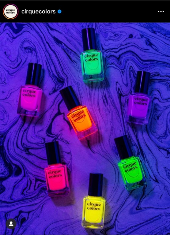 Cirque Colors Vice 2020 Blacklight