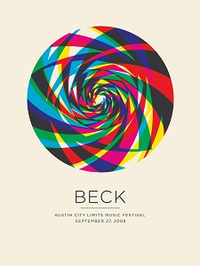 2008 Beck poster by The Small Stakes