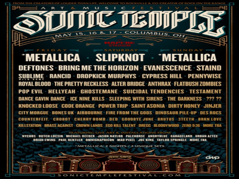 Metallica Regretfully Cancels Sonic Temple & Louder Than Life Performances