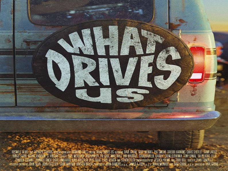 Dave Grohl Documentary 'WHAT DRIVES US' Coming To Amazon Video