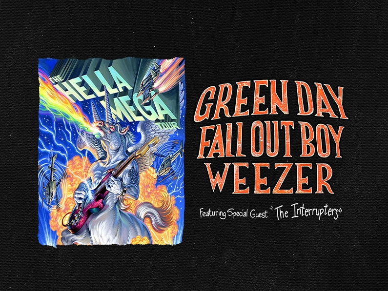 Green Day, Fall Out Boy, and Weezer 2021 Hella Mega Tour Back On!