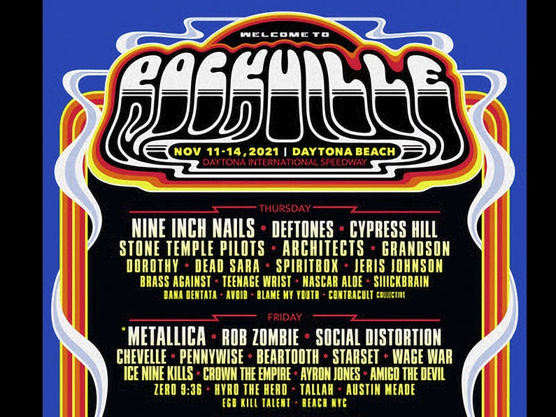 Metallica, Nine Inch Nails Lead Epic Welcome to Rockville Fest