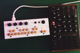 Critter and Guitari Bolsa Bass with Twisted Electrons TherapSID