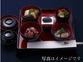 京料理かじのお食い初め膳の写真