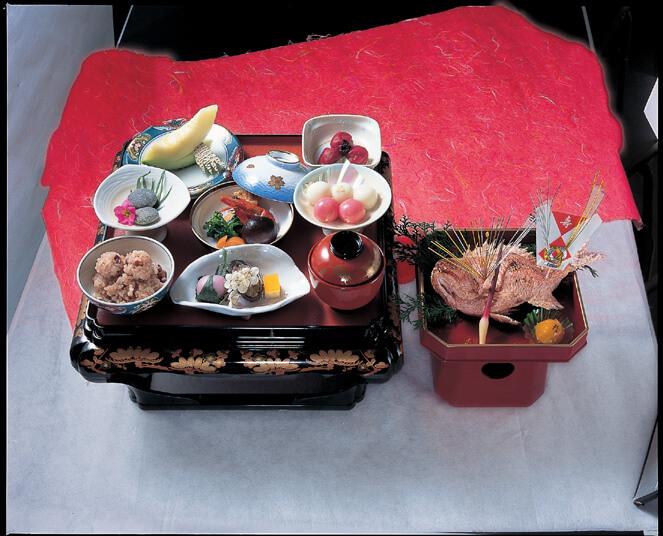 下田寿司のお食い初め膳の画像