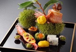 東洋館の懐石料理の画像