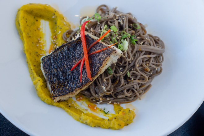 Copy of Soba Noodles with Red Snapper