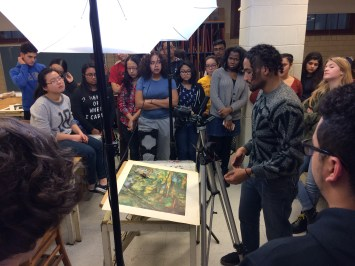 Artist Residency in Stop Motion at Central HS