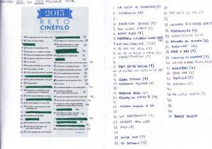 Reto Cinéfilo 2015