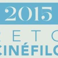 Y así quedo el reto cinéfilo 2015
