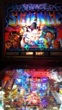 I blinded me... WITH PINBALL