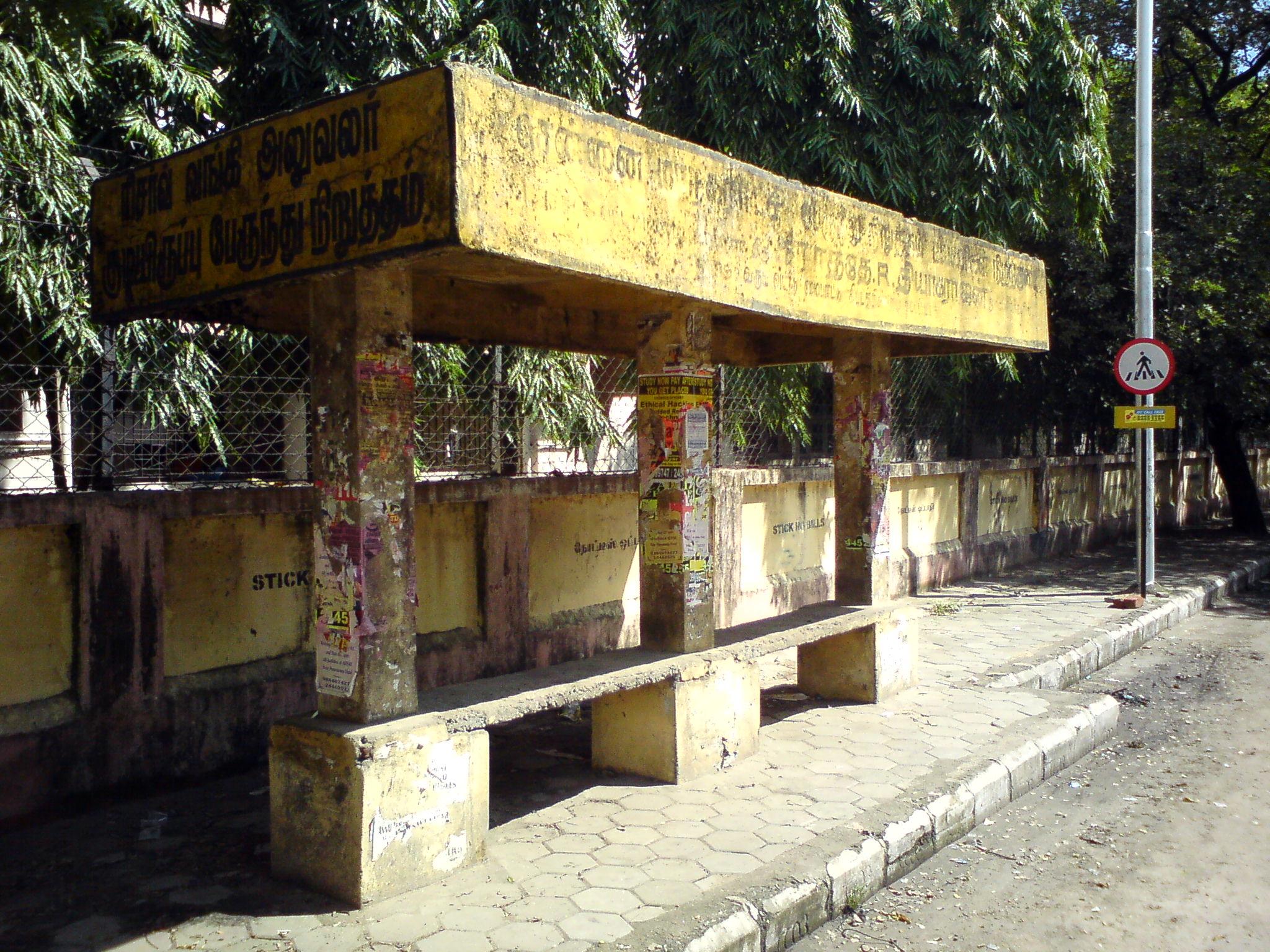 chennai bus stand