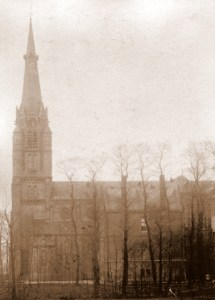 Sint-Bartholomeüskerk aan de Veenweg. Foto ca. 1900