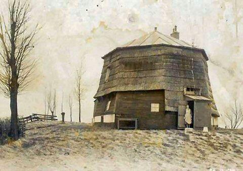 Molenromp aan Tweemolentjesvaart 1935 Deze molen werd in 1650 gebouwd