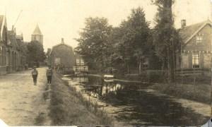 Achterweg, later Dorpsstraat.