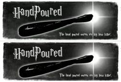 sticker-handpoured