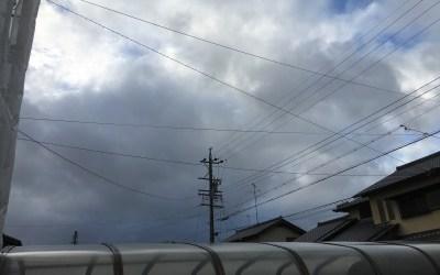 台風6号。