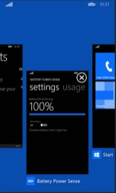 Windows Phone 8.1 Multitasking sučelje