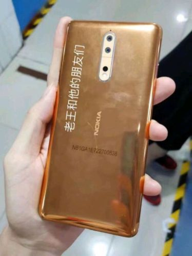 Nokia 8 gold copper 2