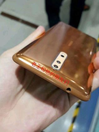 Nokia 8 gold copper 7