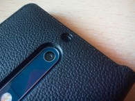 Nokia 5 case mozo leather black camera