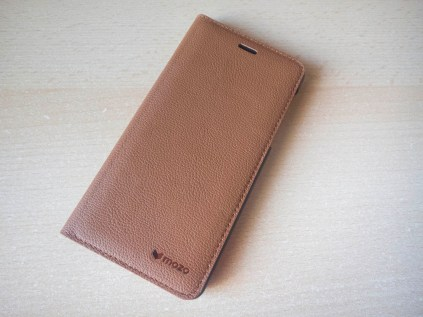 Nokia 5 mozo case brown leather front