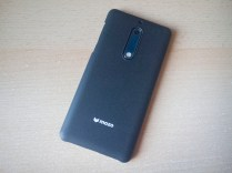 Nokia 5 mozo case sand black full back