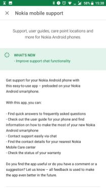 Nokia mobile support app 1