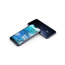 HMD Global - Nokia 7.1 - Midnight Blue Front and Back s