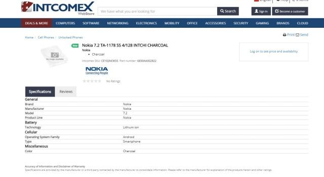 Nokia 7.2 TA-1178