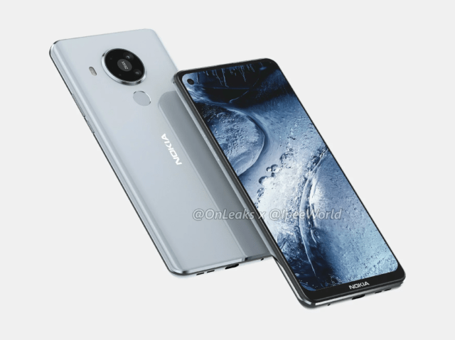Nokia 5.4 design revealed by FCC, coming with a punch-hole display and quad camera | Nokiamob