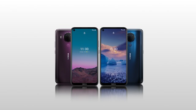 Nokia 5.4 colors. Nice