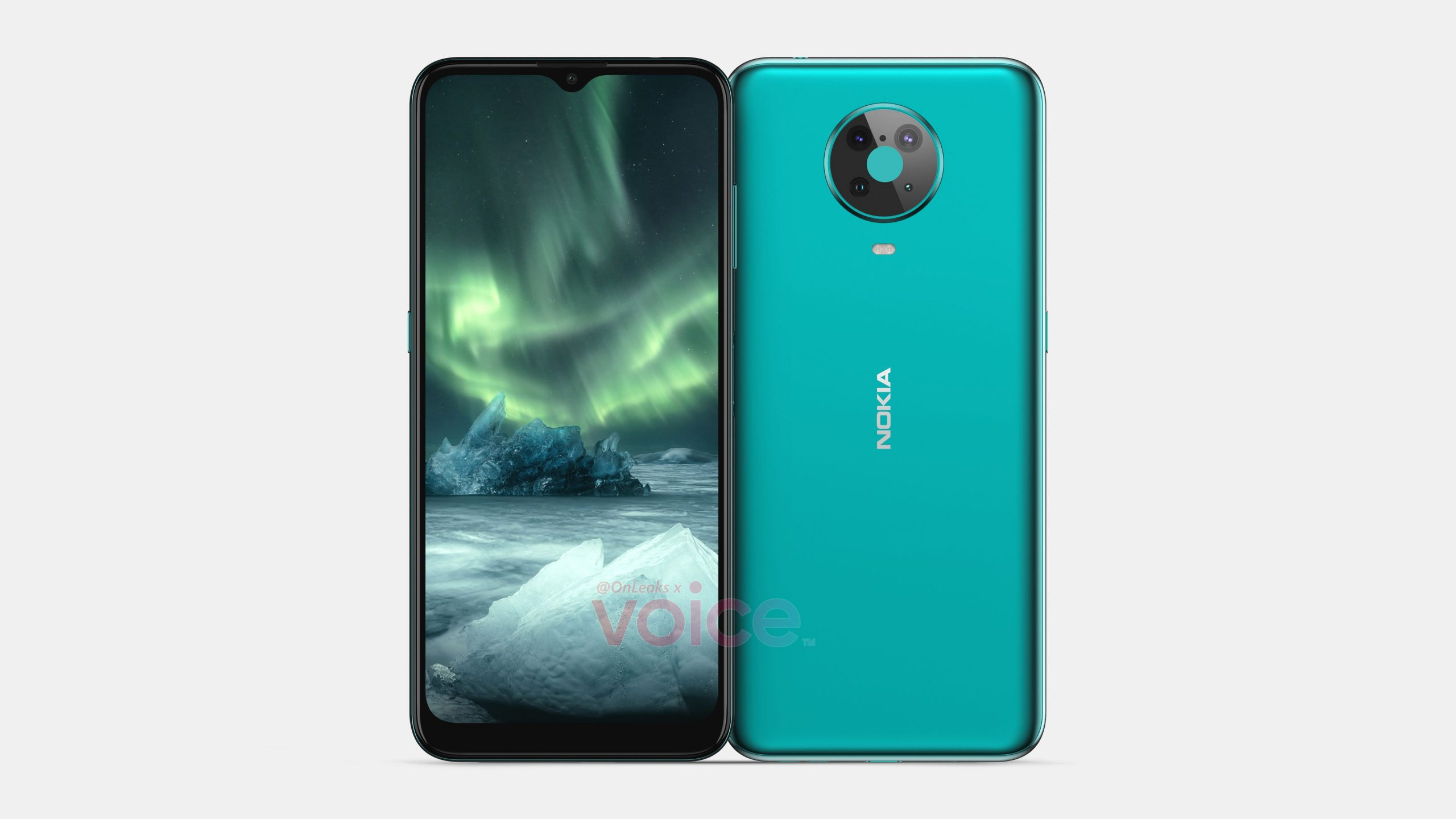Nokia 6.3 Alleged Renders Show Waterdrop-Style Notch, Quad Rear Camera Setup