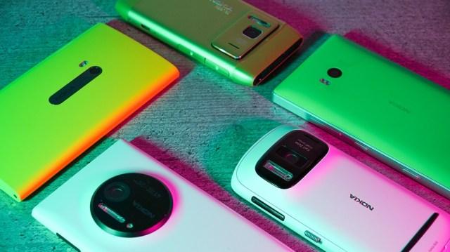 Camera phone icons