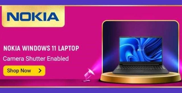Nokia Windows 11 Laptop by Flipkart