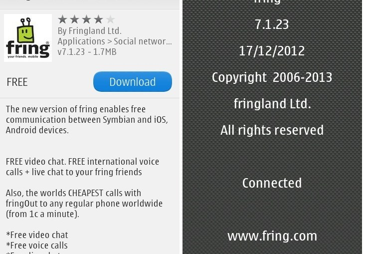 Download fring for pc and mac windows 7/8/xp/8. 1.