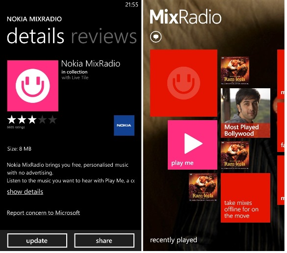 MixRadio unlimited download subscription in India is killed