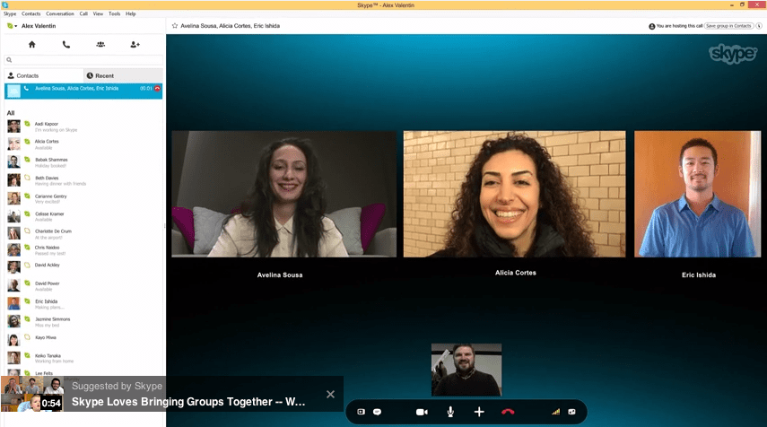 Skype releases free group calling, check out the full article at ...
