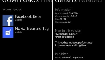Nokia Camera, Opera Mini & Facebook Messenger get updated at Windows