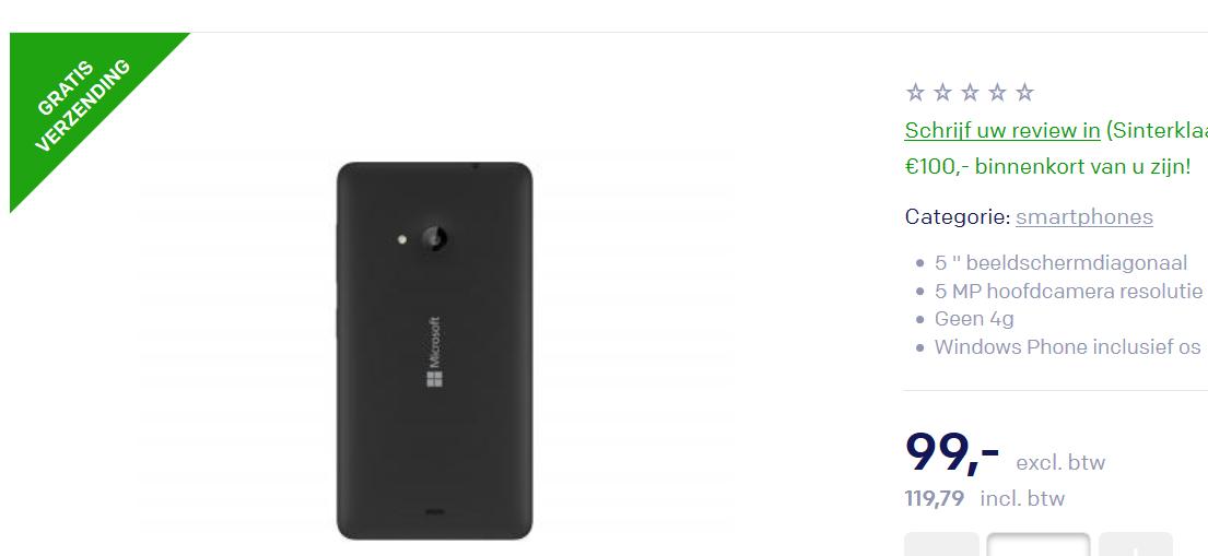Lumia 535 Centralpoint