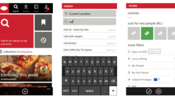 Zomato BookMyShow For Windows Phone Get Updated With New Features