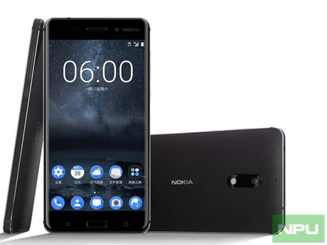 Nokia 6 three sides