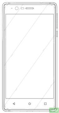 Nokia 3 patented design 3