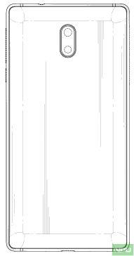 Nokia 3 patented design 4