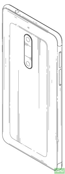Nokia 5 patented design 2