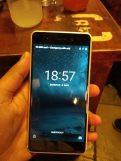 Nokia 6 lock screen