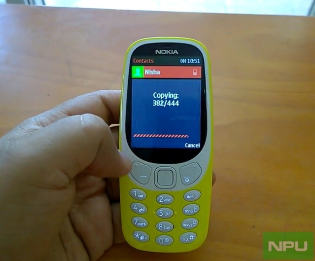 Video: Import contacts to new Nokia 3310 (2017), 215 / 220